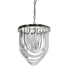 Multi Strand Chandelier, Chrome | Lighting - Barker & Stonehouse