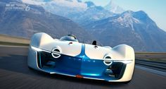 renault's alpine vision GT concept developed for gran turismo