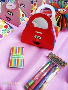 Elmo party favor