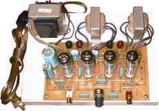 Amp Kit - Stereo Integrated Tube Amplifier