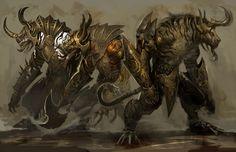 Cool guild wars 2 wallpaper (Sanborn Gill 7578x4900)