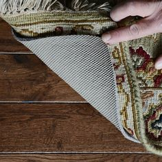 Bust of Give Your Favorite Rug Extra Protection with Best Rug Pads for Hardwood Floors
