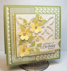 CC430......Happy Birthday Wishes by justcrazy - Cards and Paper Crafts at Splitcoaststampers