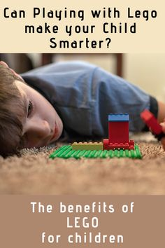Can Playing with Lego make your Child Smarter? Lego Structures, Step On A Lego, Block Play, Learning Through Play, Your Child, Relationship, Make It Yourself, Reading, Children