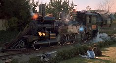 Time train from Back to the Future 3