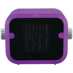 Retro Ceramic Space Heater (Purple)