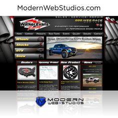 Car repair shop website.  To learn more visit us at http://modernwebstudios.com/