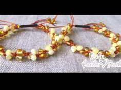 "Amber friendship bracelets ""Feelings"""