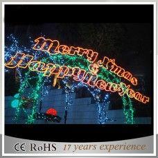 led weihnachtsbeleuchtung außen figuren Frohe Weihnachten Zeichen