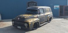 56 Ford Truck, Visors, Trucks, Vehicles, Car, Automobile, Rolling Stock, Truck, Cars
