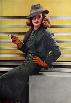 Bette Davis for Photoplay Magazine c. 1940