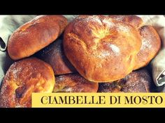 CIAMBELLE DI MOSTO FATTE IN CASA DA BENEDETTA Food Festival, Croissant, Fruits And Vegetables, Bagel, Italian Recipes, Food To Make, Seafood, Biscuits, Home