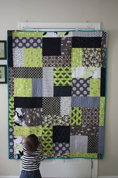 Turning Twenty Quilt by sew wonky, via Flickr