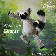 Lexi the Lemur - Limited Edition Scentsy Buddie