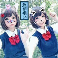 みくですニャ よろしくですニャ(=^ェ^=)❤ nya!ฅω #前川みく  #MIKU喵  #アイドルマスター シンデレラガールズ #cosplay  #偶像大师灰姑娘女孩 #偶像大師 #meakawamiku
