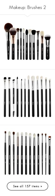 """""""Makeup: Brushes 2"""" by katiasitems on Polyvore featuring beauty products, makeup, morphe cosmetics, morphe makeup, makeup tools, makeup brushes, brushes, morphe makeup brushes, powder brush and makeup powder brush"""