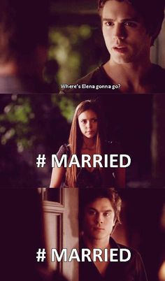 Damon and Elena Funny - damon-and-elena Fan Art