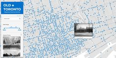 Here's your chance to explore Toronto the way your ancestors saw it, one street at a time, on a map web application, called Old Toronto, that was released this Web Application, Historical Photos, Family History, Toronto, Explore, Street, Genealogy, Ontario, Historical Pictures