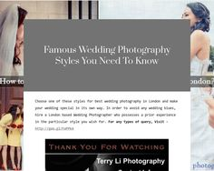 Famous Wedding Photography Styles You Need To Know