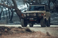 The Daily Grind - The StanceWorks LS-Swapped Land Cruiser at Lake Cachuma - StanceWorks Land Cruiser Pick Up, Land Cruiser 70 Series, Fj Cruiser, Toyota Land Cruiser, Toyota 4x4, Toyota Trucks, Overland Truck, Nissan Patrol, Diesel