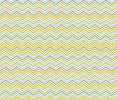 Chevron :: multi-color fabric by pinklilypress on Spoonflower - custom fabric