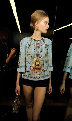 The Chronicles of Amoronia: Dolce Gabbana AW13-14: Byzantine inspiration