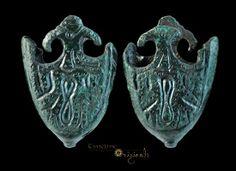 Anglo-Scandinavian / Viking 'Trefoil' Scabbard Chape 11 century