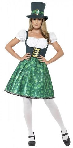 cb8a505b5fb Leprechaun Women Costume St. Patrick s Day Fancy Dress.  LeprechaunCostume   FancyDress  HalloweenCostume