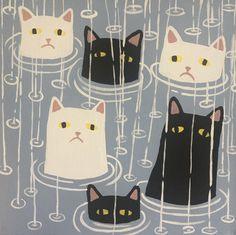 Cats and Surrealism – The strange paintings of Danial Ryan   Ufunk.net