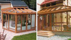 11+ překrásných kreativních nápadů na zasklené zimní zahrady a terasy! | Vychytávkov