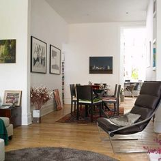 New Home Interior Design: Step inside a cosmopolitan Victorian terrace Victorian Terrace Interior, Victorian Homes, Accent Chairs For Living Room, Dining Room Chairs, Dining Area, Compact Table And Chairs, Living Etc, Cafe Chairs, Open Plan Living