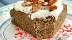 Boekweitbananenontbijtcake wat dus niets met havermout te maken heeft maar wel heel lekker is.