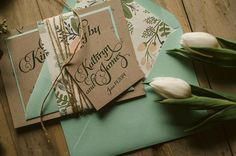 Beautiful, Affordable Letterpress Wedding Invitations. To see more: http://www.modwedding.com/2014/04/05/beautiful-affordable-letterpress-wedding-invitations/