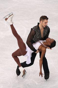 Vanessa James and Morgan Cipres of France compete in the Pairs Free Program during ISU World Figure Skating Championships at Saitama Super Arena on March 27, 2014 in Saitama, Japan.