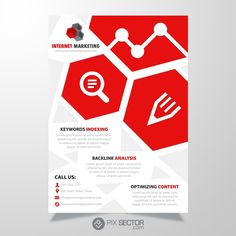 Free SEO flyer template - Pixsector Psd Templates, Flyer Template, Free Vector Images, Vector Free, Free Vector Illustration, Internet Marketing, Seo, Photos, Pictures