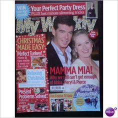 ABBA - Mamma Mia!. Magazine My Weekly Pierce + Meryl Nov 2008