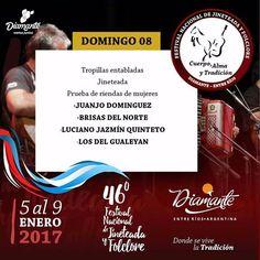 Festival Nacional de Jineteada y Folclore de Diamante HOY - ErMusicTV® Canal de Música / Noticias / Discos de Entre Ríos® / ERD Music®
