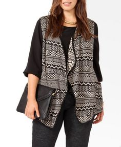 Geo Sweater Vest  $29.80