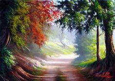 Resultado de imagem para paisagens com caminhos