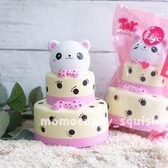 bear cake tier by eric 180rb / pcs slow, soft and scented • BNIP, please note all the squishy may have minor defect from factory, like air bubble etc • ⭐️melayani pembelian grosir dengan harga terjangkau⭐️ • untuk order bisa langsung hubungi : line : @momocuppy WA : 08170138696 ❌NO CALL❌ atau ke store di Central Park Mall (CP) lantai 3 (depan gramedia) Cute Squishies, Slime Shops, Polymer Clay Figures, Birthdays, Toys, Amazing, Fun, Crafts, Kawaii Things