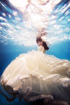 underwater photoshoot!