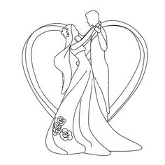 """""""people beautiful bride outdoor"""" Royalty-Free Photos, Illustrations, and Vectors - Storyblocks Hand Embroidery Projects, Embroidery Patterns Free, Mini Drawings, Easy Drawings, Wedding Dress Illustrations, Crown Illustration, Foto 3d, Cupcake Drawing, Wedding Embroidery"""