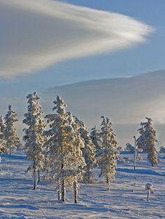 """  blue and white "" Saariselkä Ivalo Finland"