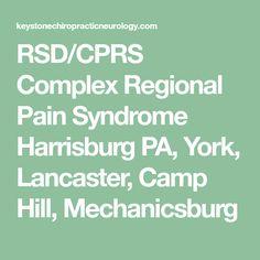 RSD/CPRS Complex Regional Pain Syndrome Harrisburg PA, York, Lancaster, Camp Hill, Mechanicsburg