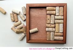 Wine Cork Trivet #DIY #Cheap Project Tutorial