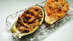 Töltött cukkini Szta konyhájából | Nosalty Baked Potato, Potatoes, Baking, Ethnic Recipes, Desserts, Food, Tailgate Desserts, Deserts, Potato