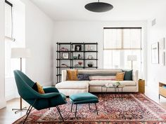 Everything You Need to Make Your Old Sofa Feel New (and Cool) Again via @MyDomaineAU