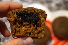 #pumpkin #muffins #healthysnacking  http://speedyedietrifuel.blogspot.com/2014/10/recipe-pumpkin-chocolate-fudge-muffins.html