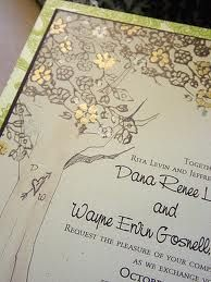 Love the tree border #invites #wedding