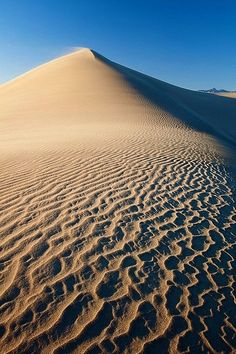 Mesquite Sand Dunes, Death Valley National Park